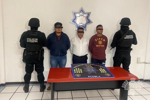 Caen narcomenudistas luego de fuga de gas en Puebla