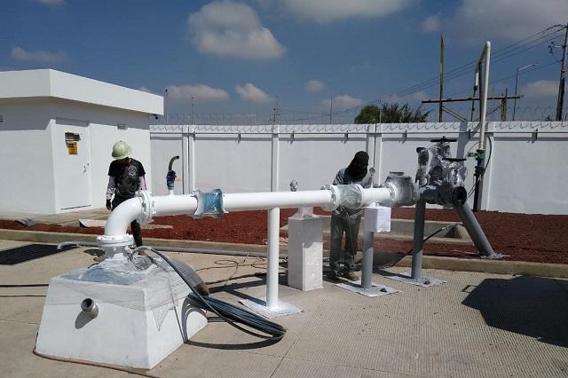 Agua de Puebla realizará trabajos para automatizar el Pozo Gaza
