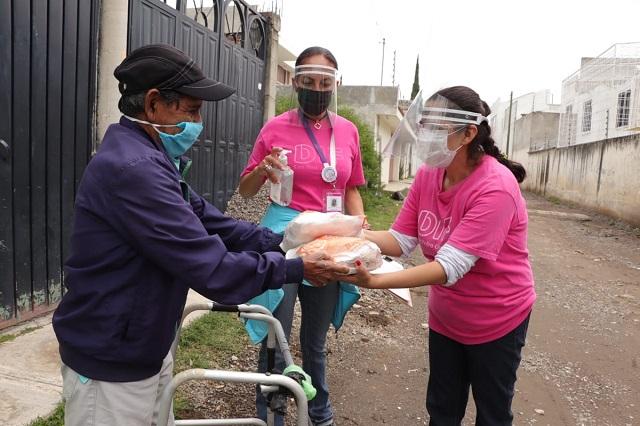 DIF San Pedro y Bachoco dan pollo fresco a 20 mil personas