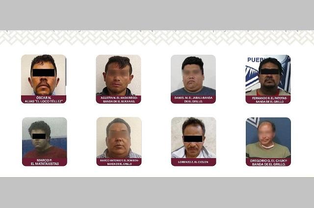Trasladan a 14 reos peligrosos de Puebla a cárceles federales