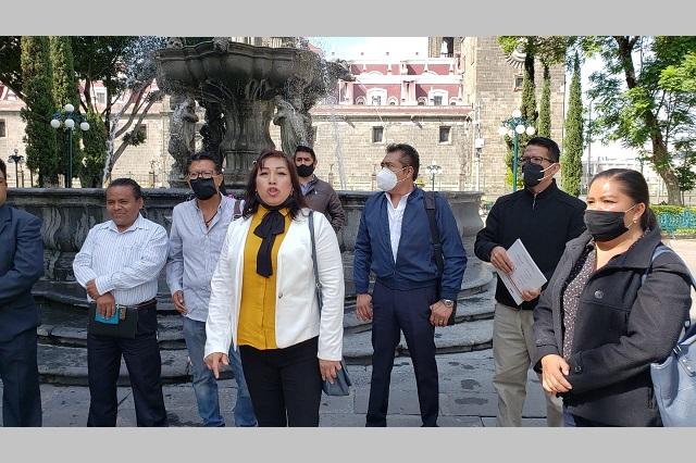 Regidores piden destituir al alcalde de Lara Grajales