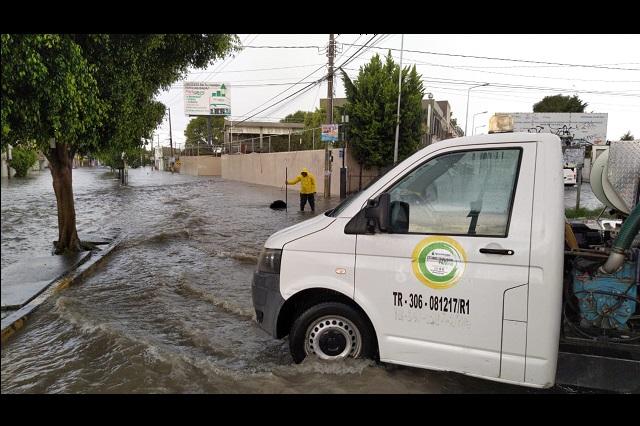 Desazolva Agua de Puebla 1,120 Kilómetros en drenaje de la capital