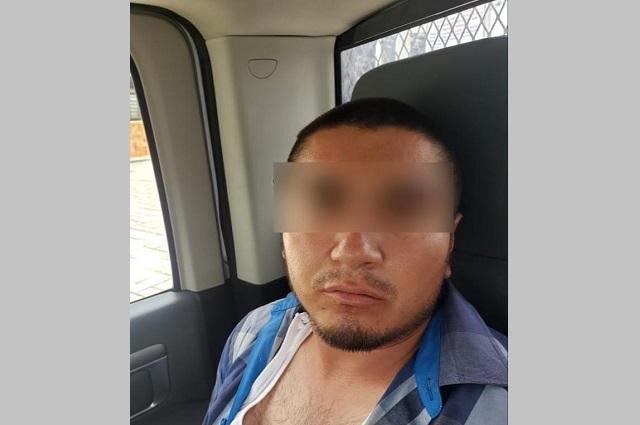 Cae presunto homicida de policía en Ahuatempan