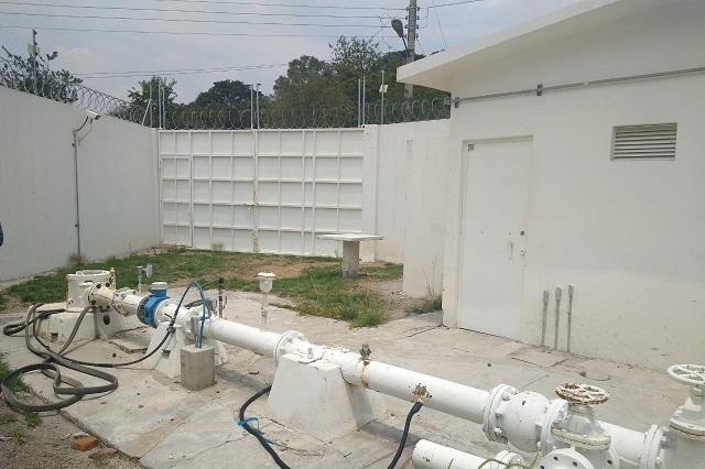 Por obras en pozo, menos agua en barrios de Puebla