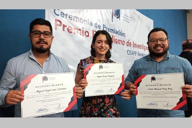 Premian a reporteros de E-Consulta y La Silla Rota en Veracruz
