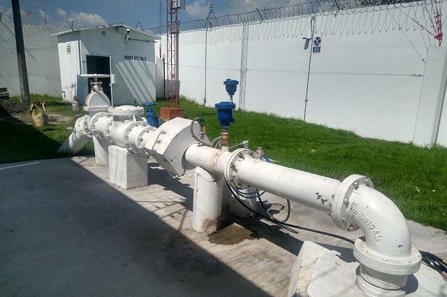 Agua de Puebla dará mantenimiento al Pozo Hylsa 2