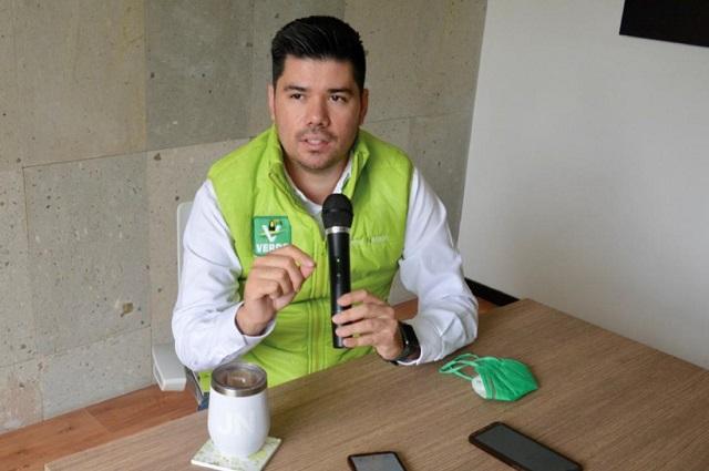 Padrón del Partido Verde aumenta 600% en Puebla