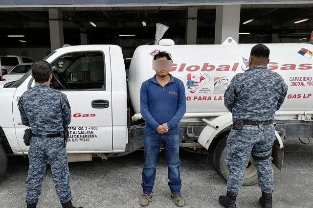 Pipero de Tepeaca no pudo probar legalidad del gas que trasportaba