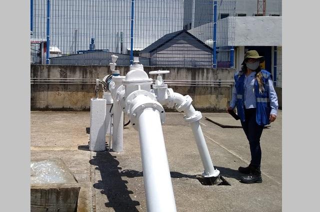 Menos agua en 15 colonias por obras en pozo Almecatla 6