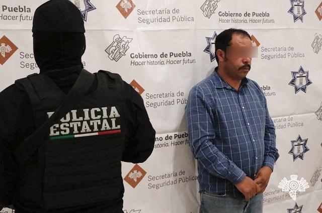 Detienen en Chignahuapan a El Moco, principal líder huachicolero