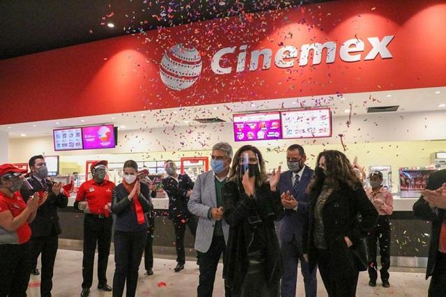 Abre Cinemex complejo en Amalucan con 70 millones de pesos