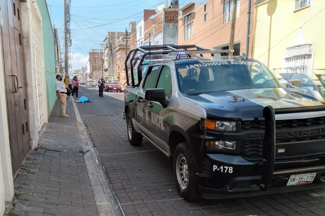 Hombre muere por hemorragia interna en San Pedro Cholula