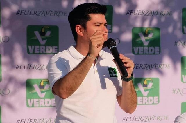 El Partido Verde inaugura oficinas en municipios poblanos