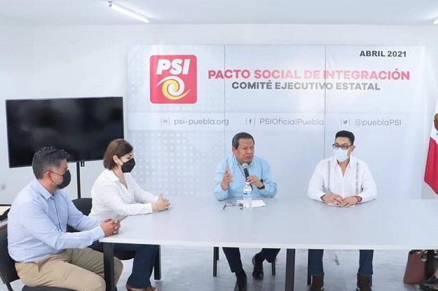 Edgar Salomón es un perfil de lujo; tiene todo nuestro apoyo: PSI
