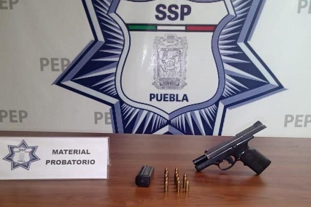 SSC abre investigación por arma hallada en Soriana Torrecillas
