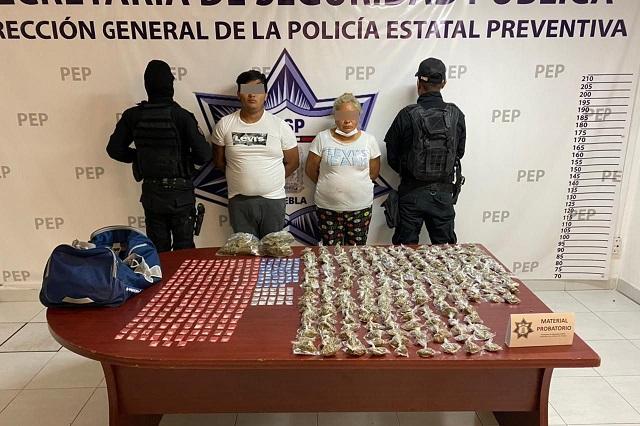 Cae La Doña, distribuidora de droga en el barrio de Analco