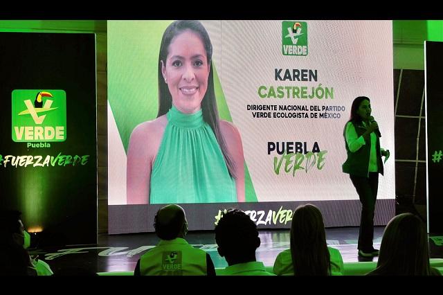 Elección de Puebla será de 3, dice líder nacional del Verde