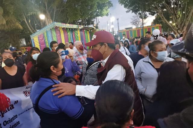 Atenderemos Tehuacán y a grupos vulnerables, asegura: Pedro Tepole