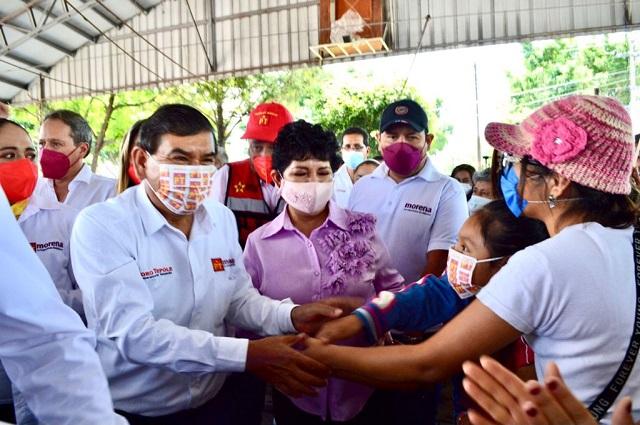 Denuncia Pedro Tepole amenazas de hombres armados, en Tehuacán