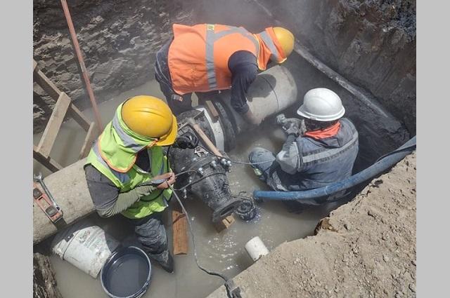 Obra de Agua de Puebla beneficia a más de 10 mil habitantes