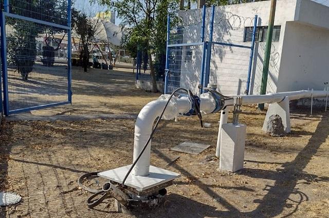 Menos agua en Unidad Guadalupe, Anzures y Los Pilares por obras