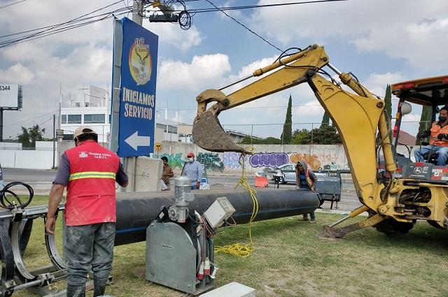 Agua de Puebla continúa mantenimiento al Sistema Acuaférico