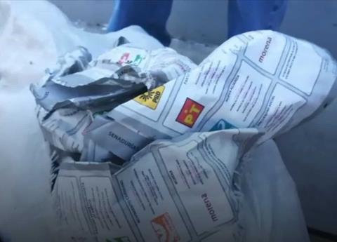 Encuentran en Hidalgo boletas electorales de Puebla en bolsas de basura