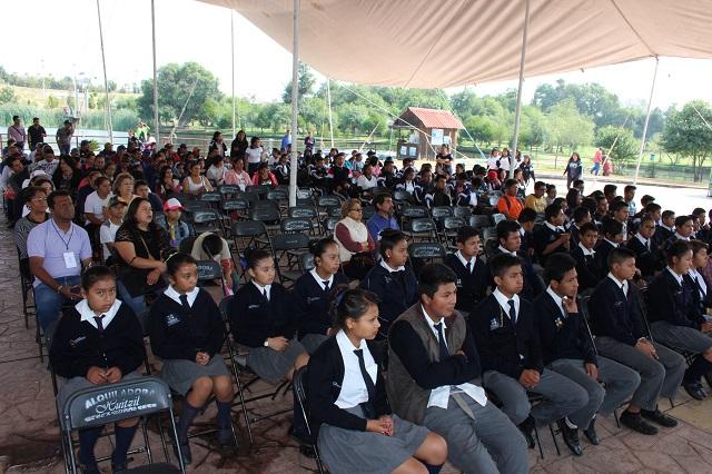 Cuautlancingo conmemora Día del Reciclaje en Parque El Ameyal