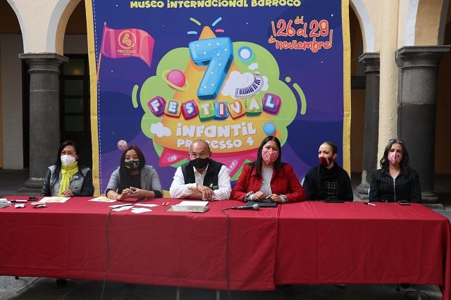 Presenta Secretaría de Cultura el Festival Infantil PROCESSO 4
