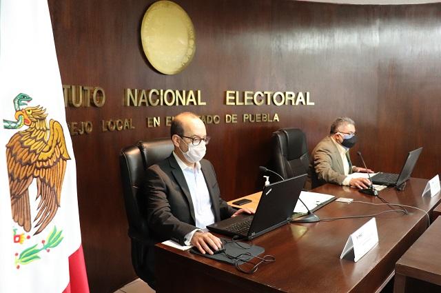 Recibe INE Puebla 145 solicitudes para ser observadores electorales