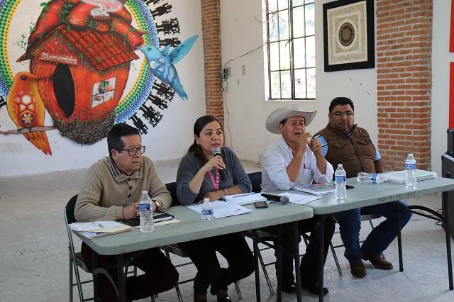 IEE cumplió con fase informativa de consulta indígena en Pahuatlán