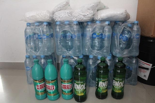 Solo tres litros de cloro envía gobierno a nosocomio de Huitzilan
