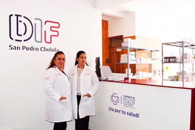"Gobierno de San Pedro Cholula abrió la nueva ""Farmacia DIF"""