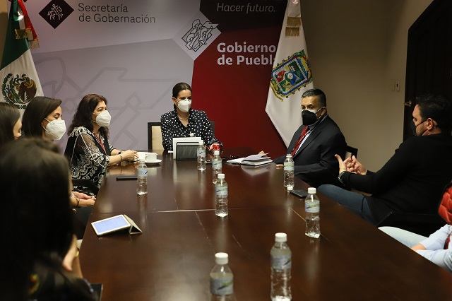 Dialogan banqueteros con Segob y Protección Civil estatal