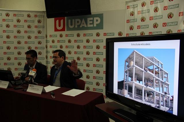 Después de un sismo, deben revisarse las edificaciones: Upaep