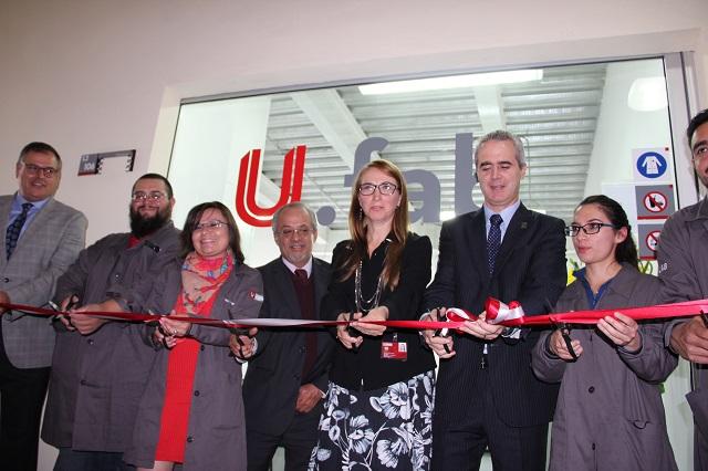 La UPAEP inaugura su laboratorio U. fab
