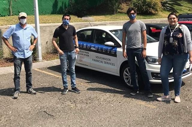 Presta VW vehículos a la Ibero y Cruz Roja contra el Covid-19