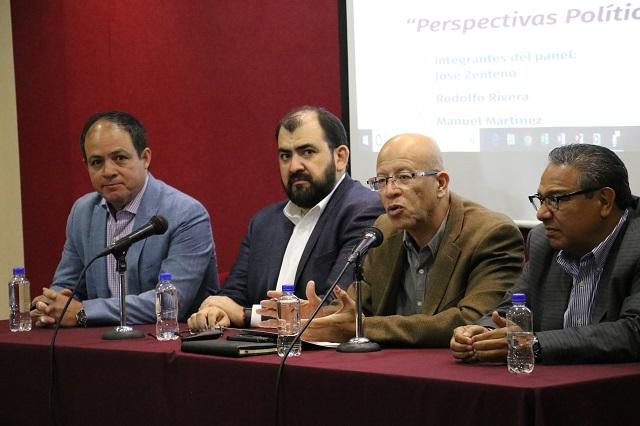 AMLO sigue siendo factor a favor de Morena y Barbosa: encuestadores