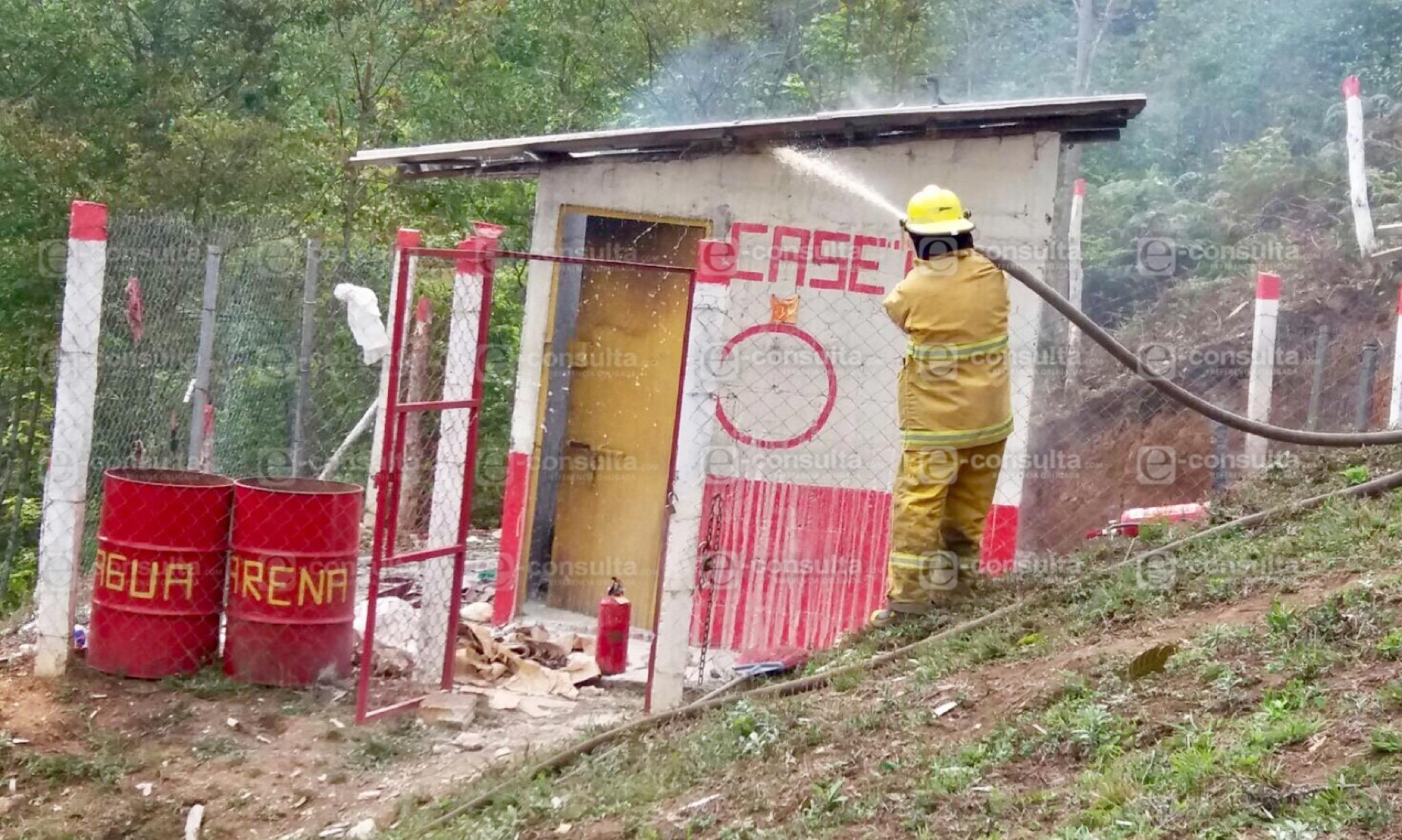 Explosión de polvorín deja un muerto y dos heridos en Huauchinango