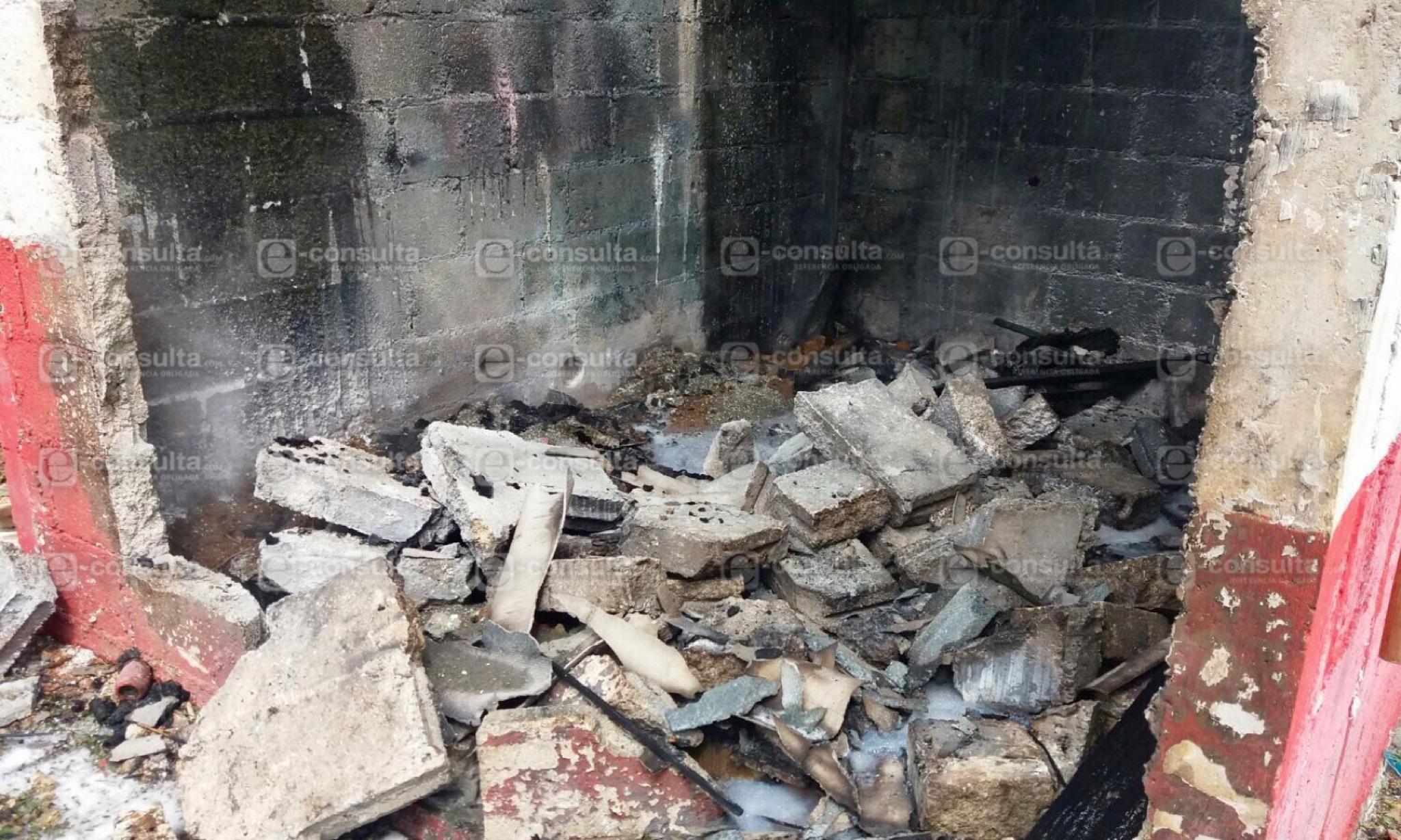 Explosión de polvorín deja una persona muerta y dos heridas, en Huauchinango