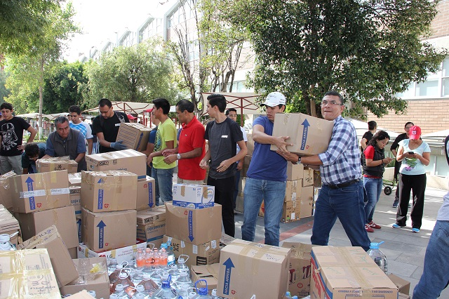 UPAEP envió 25 toneladas de  ayuda a comunidades afectadas