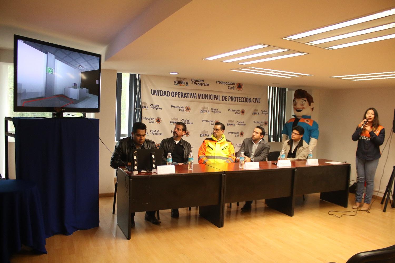 Presenta el Ayuntamiento de Puebla Taller Virtual de Protección Civil