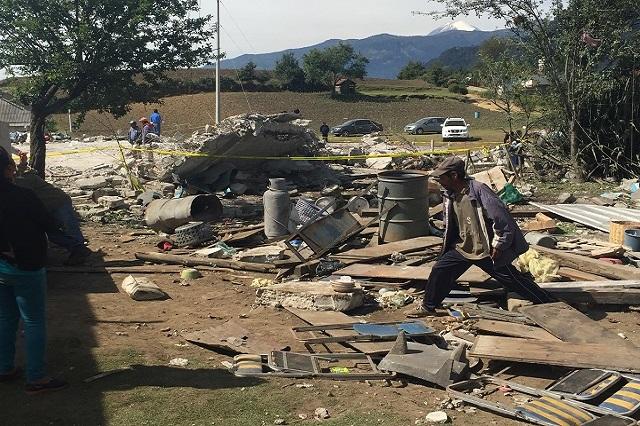 Siete menores continúan hospitalizados tras explosión en Chilchota