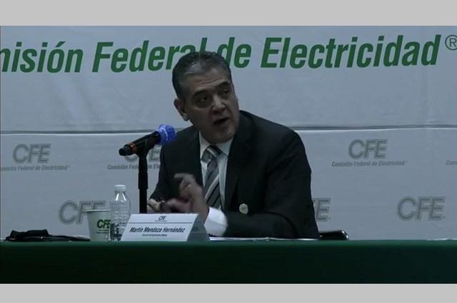 CFE solo tiene 42 quejas por cobros excesivos de luz en Puebla