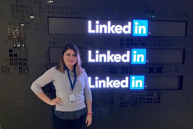 Estudiante de diseño en UPAEP llega a Linked in, Irlanda