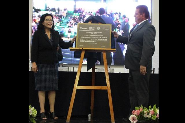 Universidad Tecnológica de Puebla celebra su aniversario número 25