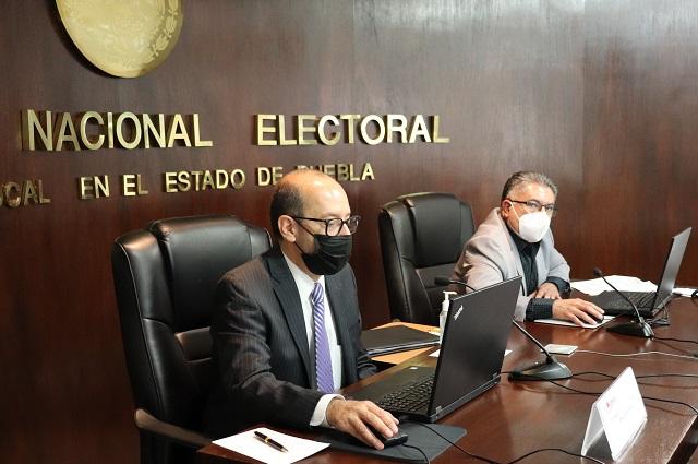 INE, partidos y candidatos exigen seguridad y elección sin violencia