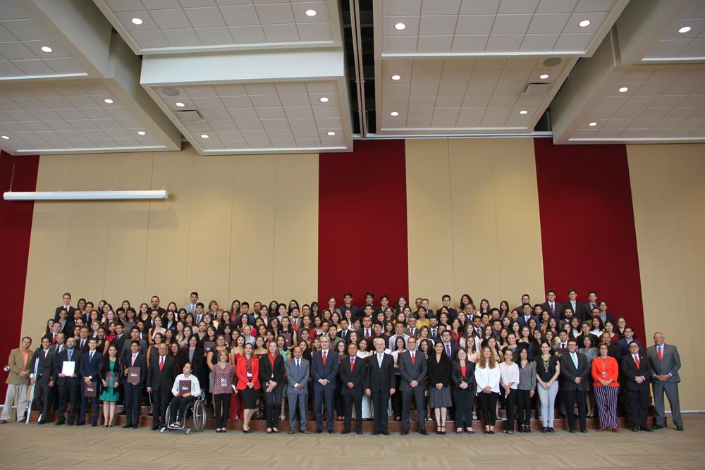 UPAEP reconoce a 161 estudiantes   en Ceremonia de Beca al Mérito
