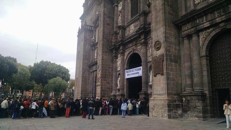 Visitaron la catedral de Puebla 1.2 millones de personas en 2015