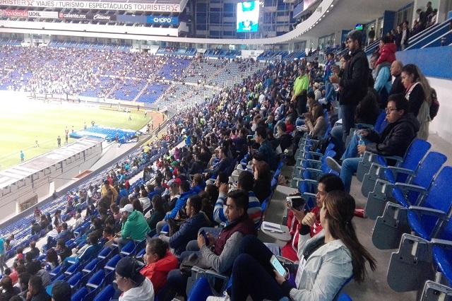 Puebla se humilla en casa y cae ante León 1-0